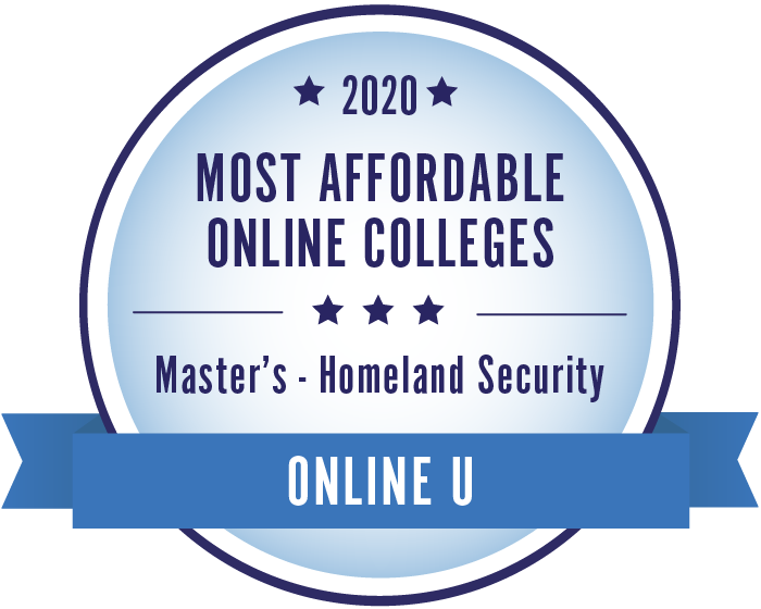 2020 Most Affordable Online Colleges Master's in Homeland Security